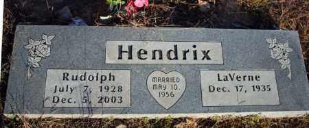 "HENDRIX, RUDOLPH JEWELL ""RUDY"" - Searcy County, Arkansas | RUDOLPH JEWELL ""RUDY"" HENDRIX - Arkansas Gravestone Photos"