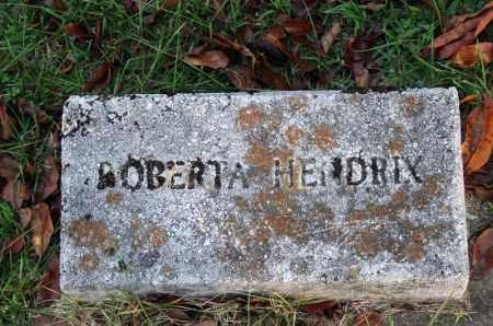 HENDRIX, ROBERTA - Searcy County, Arkansas | ROBERTA HENDRIX - Arkansas Gravestone Photos