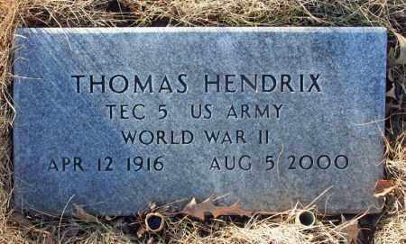 HENDRIX (VETERAN), THOMAS - Searcy County, Arkansas | THOMAS HENDRIX (VETERAN) - Arkansas Gravestone Photos