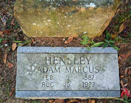 HENSLEY, ADAM MARCUS - Searcy County, Arkansas   ADAM MARCUS HENSLEY - Arkansas Gravestone Photos