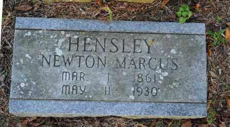 HENSLEY, NEWTON MARCUS - Searcy County, Arkansas   NEWTON MARCUS HENSLEY - Arkansas Gravestone Photos