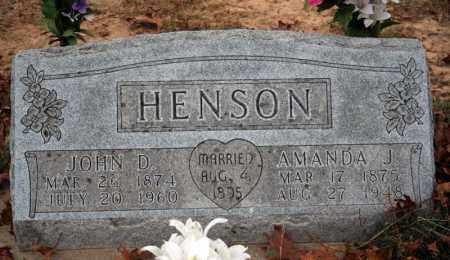 HENSON, AMANDA J. - Searcy County, Arkansas | AMANDA J. HENSON - Arkansas Gravestone Photos