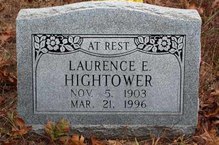 HIGHTOWER, LAURENCE E. - Searcy County, Arkansas | LAURENCE E. HIGHTOWER - Arkansas Gravestone Photos