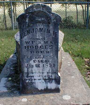 HODGES, BENJAMIN H. - Searcy County, Arkansas | BENJAMIN H. HODGES - Arkansas Gravestone Photos