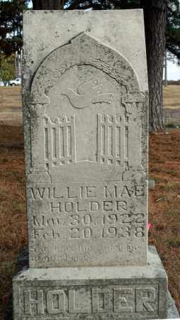 HOLDER, WILLIE MAE - Searcy County, Arkansas   WILLIE MAE HOLDER - Arkansas Gravestone Photos
