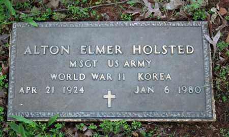 HOLSTED (VETERAN 2 WARS), ALTON ELMER - Searcy County, Arkansas | ALTON ELMER HOLSTED (VETERAN 2 WARS) - Arkansas Gravestone Photos