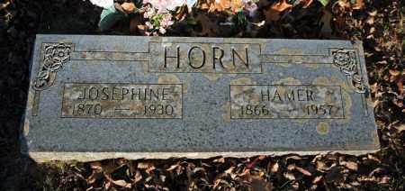 HORN, HAMER ALLEN - Searcy County, Arkansas | HAMER ALLEN HORN - Arkansas Gravestone Photos