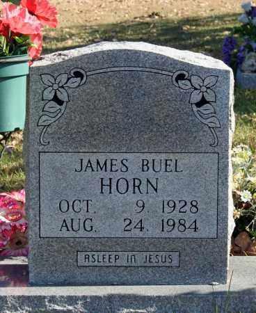 HORN, JAMES BUEL - Searcy County, Arkansas | JAMES BUEL HORN - Arkansas Gravestone Photos