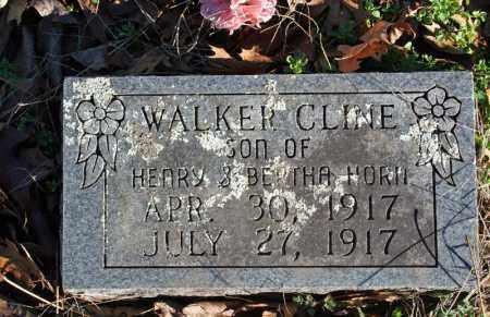HORN, WALKER CLINE - Searcy County, Arkansas   WALKER CLINE HORN - Arkansas Gravestone Photos