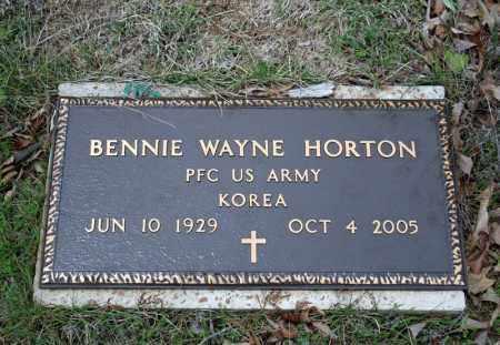 HORTON (VETERAN KOR), BENNIE WAYNE - Searcy County, Arkansas | BENNIE WAYNE HORTON (VETERAN KOR) - Arkansas Gravestone Photos