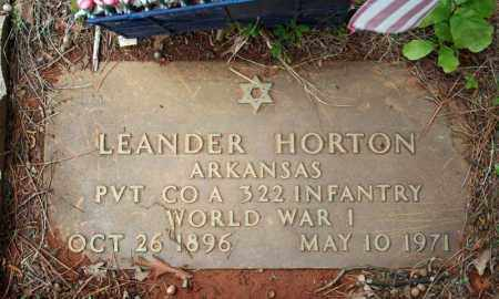 HORTON (VETERAN WWI), LEANDER - Searcy County, Arkansas | LEANDER HORTON (VETERAN WWI) - Arkansas Gravestone Photos