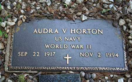 HORTON (VETERAN WWII), AUDRA V - Searcy County, Arkansas | AUDRA V HORTON (VETERAN WWII) - Arkansas Gravestone Photos