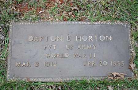 HORTON (VETERAN WWII), DAFTON E - Searcy County, Arkansas | DAFTON E HORTON (VETERAN WWII) - Arkansas Gravestone Photos
