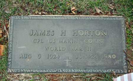 HORTON (VETERAN WWII), JAMES H - Searcy County, Arkansas | JAMES H HORTON (VETERAN WWII) - Arkansas Gravestone Photos