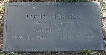 HORTON (VETERAN WWII), LOTIS - Searcy County, Arkansas | LOTIS HORTON (VETERAN WWII) - Arkansas Gravestone Photos