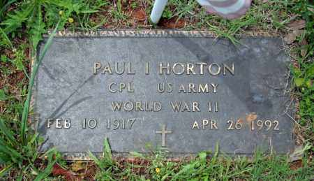 HORTON (VETERAN WWII), PAUL I - Searcy County, Arkansas | PAUL I HORTON (VETERAN WWII) - Arkansas Gravestone Photos