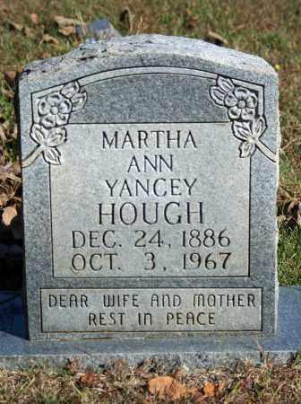 HOUGH, MARTHA ANN - Searcy County, Arkansas   MARTHA ANN HOUGH - Arkansas Gravestone Photos