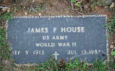 HOUSE (VETERAN WWII), JAMES F - Searcy County, Arkansas | JAMES F HOUSE (VETERAN WWII) - Arkansas Gravestone Photos