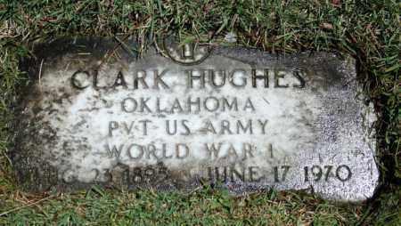 HUGHES (VETERAN WWI), CLARK - Searcy County, Arkansas   CLARK HUGHES (VETERAN WWI) - Arkansas Gravestone Photos