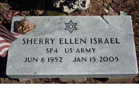 ISRAEL (VETERAN), SHERRY ELLEN - Searcy County, Arkansas   SHERRY ELLEN ISRAEL (VETERAN) - Arkansas Gravestone Photos