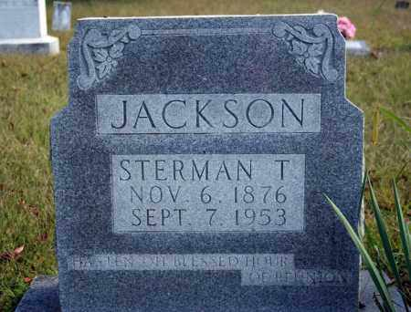 JACKSON, STERMAN T. - Searcy County, Arkansas   STERMAN T. JACKSON - Arkansas Gravestone Photos