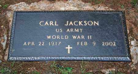 JACKSON (VETERAN WWII), CARL - Searcy County, Arkansas | CARL JACKSON (VETERAN WWII) - Arkansas Gravestone Photos