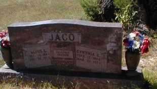 JACO, CYNTHIA - Searcy County, Arkansas | CYNTHIA JACO - Arkansas Gravestone Photos