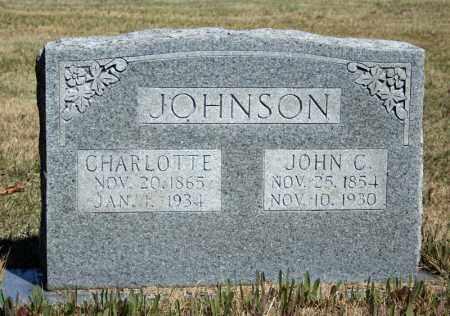 JOHNSON, JOHN C. - Searcy County, Arkansas | JOHN C. JOHNSON - Arkansas Gravestone Photos