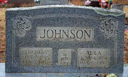 JOHNSON, XULA - Searcy County, Arkansas | XULA JOHNSON - Arkansas Gravestone Photos