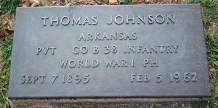 JOHNSON  (VETERAN WWI), THOMAS - Searcy County, Arkansas | THOMAS JOHNSON  (VETERAN WWI) - Arkansas Gravestone Photos
