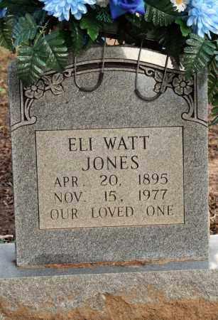 JONES, ELI WATT - Searcy County, Arkansas | ELI WATT JONES - Arkansas Gravestone Photos