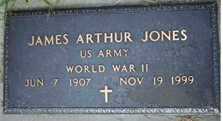 JONES  (VETERAN WWII), JAMES ARTHUR - Searcy County, Arkansas | JAMES ARTHUR JONES  (VETERAN WWII) - Arkansas Gravestone Photos