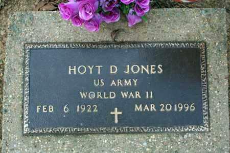 JONES (VETERAN WWII), HOYT D - Searcy County, Arkansas   HOYT D JONES (VETERAN WWII) - Arkansas Gravestone Photos