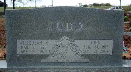 JUDD, WILLODEAN VIRGINIA - Searcy County, Arkansas | WILLODEAN VIRGINIA JUDD - Arkansas Gravestone Photos