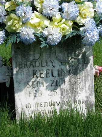 KEELING, BRADLEY O'DELL - Searcy County, Arkansas   BRADLEY O'DELL KEELING - Arkansas Gravestone Photos