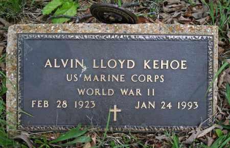KEHOE (VETERAN WWII), ALVIN LLOYD - Searcy County, Arkansas | ALVIN LLOYD KEHOE (VETERAN WWII) - Arkansas Gravestone Photos