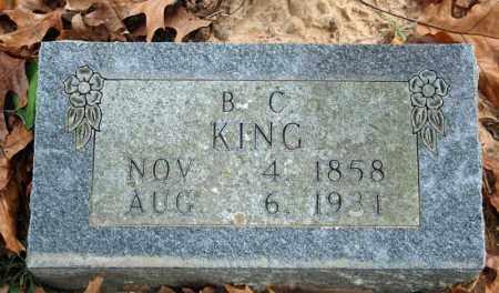 KING, BENJAMIN C. - Searcy County, Arkansas | BENJAMIN C. KING - Arkansas Gravestone Photos