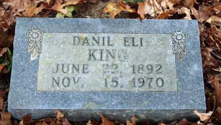 KING, DANIL ELI - Searcy County, Arkansas   DANIL ELI KING - Arkansas Gravestone Photos