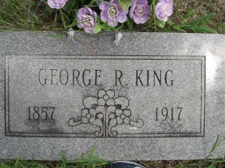 KING, GEORGE  R. - Searcy County, Arkansas   GEORGE  R. KING - Arkansas Gravestone Photos