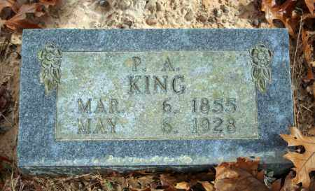 KING, PRISCILLA A. - Searcy County, Arkansas | PRISCILLA A. KING - Arkansas Gravestone Photos