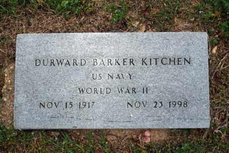 KITCHEN (VETERAN WWII), DURWARD BARKER - Searcy County, Arkansas | DURWARD BARKER KITCHEN (VETERAN WWII) - Arkansas Gravestone Photos