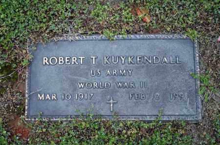 KUYKENDALL (VETERAN WWII), ROBERT T - Searcy County, Arkansas | ROBERT T KUYKENDALL (VETERAN WWII) - Arkansas Gravestone Photos