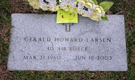 LARSEN (VETERAN), GERALD HOWARD - Searcy County, Arkansas   GERALD HOWARD LARSEN (VETERAN) - Arkansas Gravestone Photos