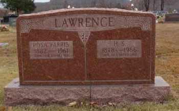 FARRIS LAWRENCE, ROSA - Searcy County, Arkansas | ROSA FARRIS LAWRENCE - Arkansas Gravestone Photos
