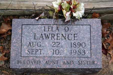 BAKER LAWRENCE, LELA O. - Searcy County, Arkansas | LELA O. BAKER LAWRENCE - Arkansas Gravestone Photos