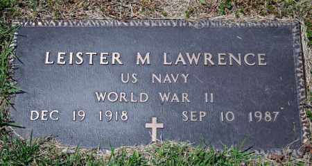 LAWRENCE (VETERAN WWII), LEISTER M - Searcy County, Arkansas   LEISTER M LAWRENCE (VETERAN WWII) - Arkansas Gravestone Photos