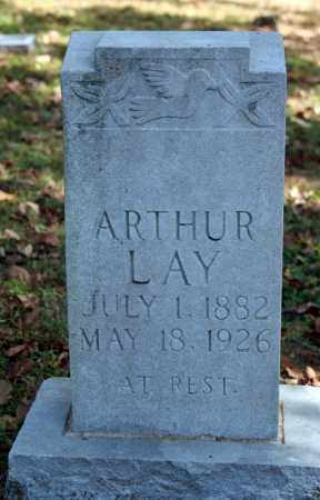 LAY, ARTHUR - Searcy County, Arkansas | ARTHUR LAY - Arkansas Gravestone Photos