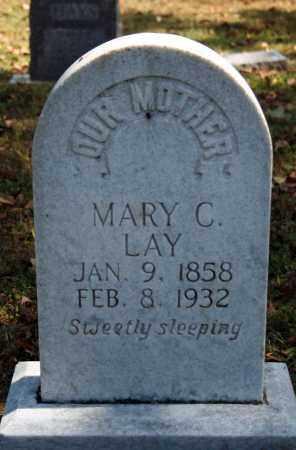 HORTON LAY, MARY C. - Searcy County, Arkansas | MARY C. HORTON LAY - Arkansas Gravestone Photos