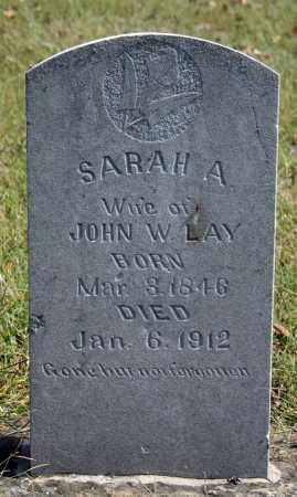 LAY, SARAH A. - Searcy County, Arkansas   SARAH A. LAY - Arkansas Gravestone Photos
