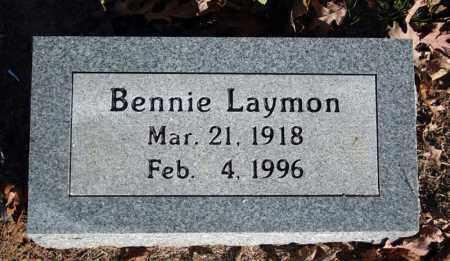 LAYMON, BENNIE - Searcy County, Arkansas | BENNIE LAYMON - Arkansas Gravestone Photos